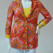 Patterned Tall Blazer (by 6 by Six)