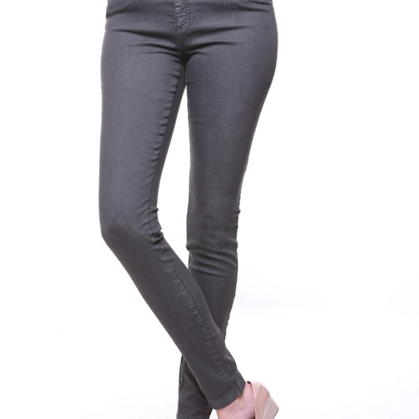 "38"" Charcoal Grey Skinny Jean 