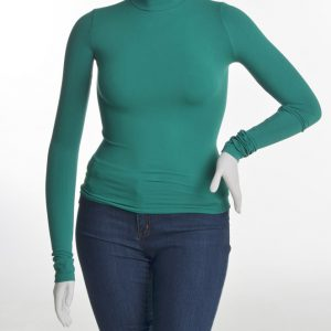 Mock Neck Top (by Nikibiki)