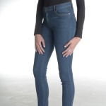 "38"" Medium Wash Skinny Yoga Jean"