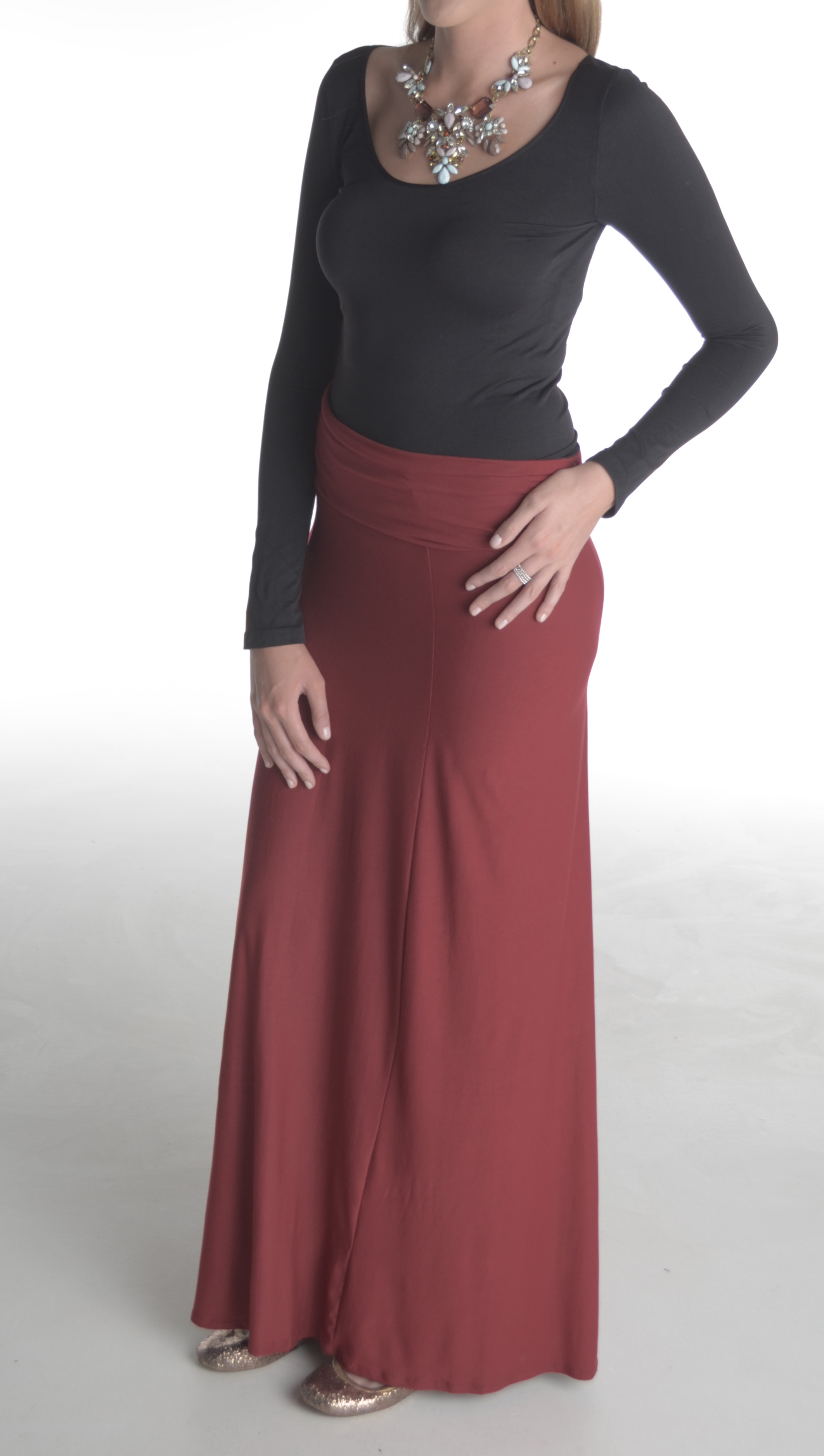 Tall Maxi Skirt (by Talltique)