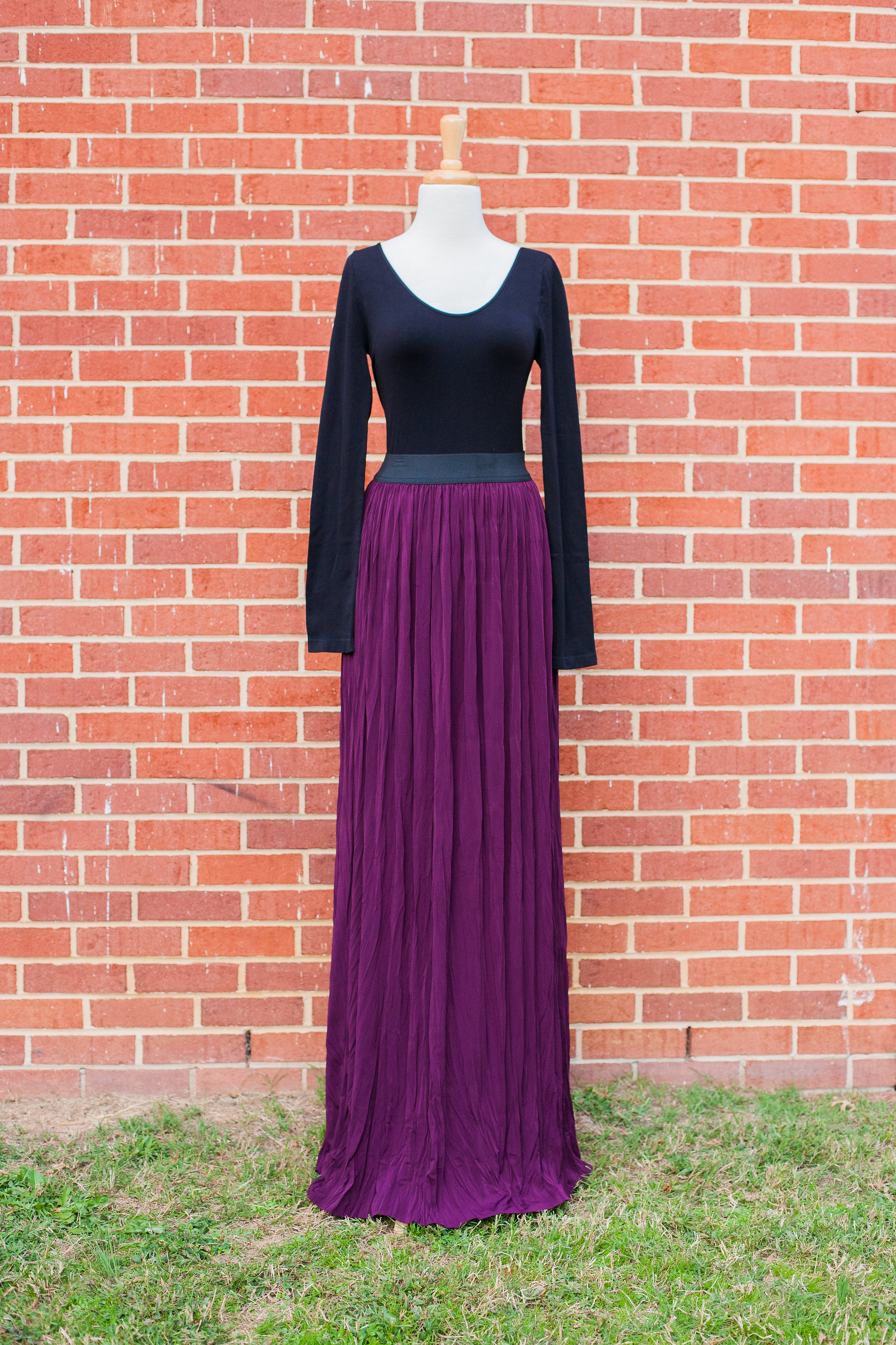 Crinkle Tall Maxi Skirt | Talltique