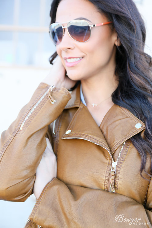 Talltique Bomber Jacket, as worn by Alicia Jay at TallSwag