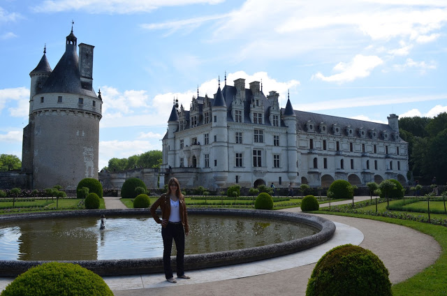Talltique Bomber Jacket in the French Chateaus